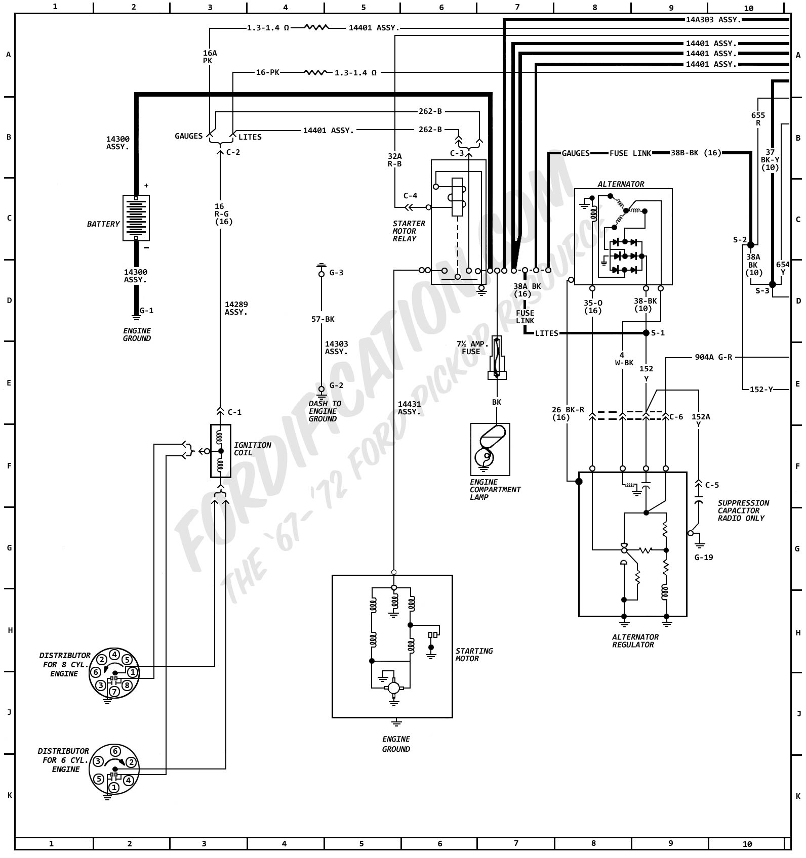Chevy C10 Wiring Diagram