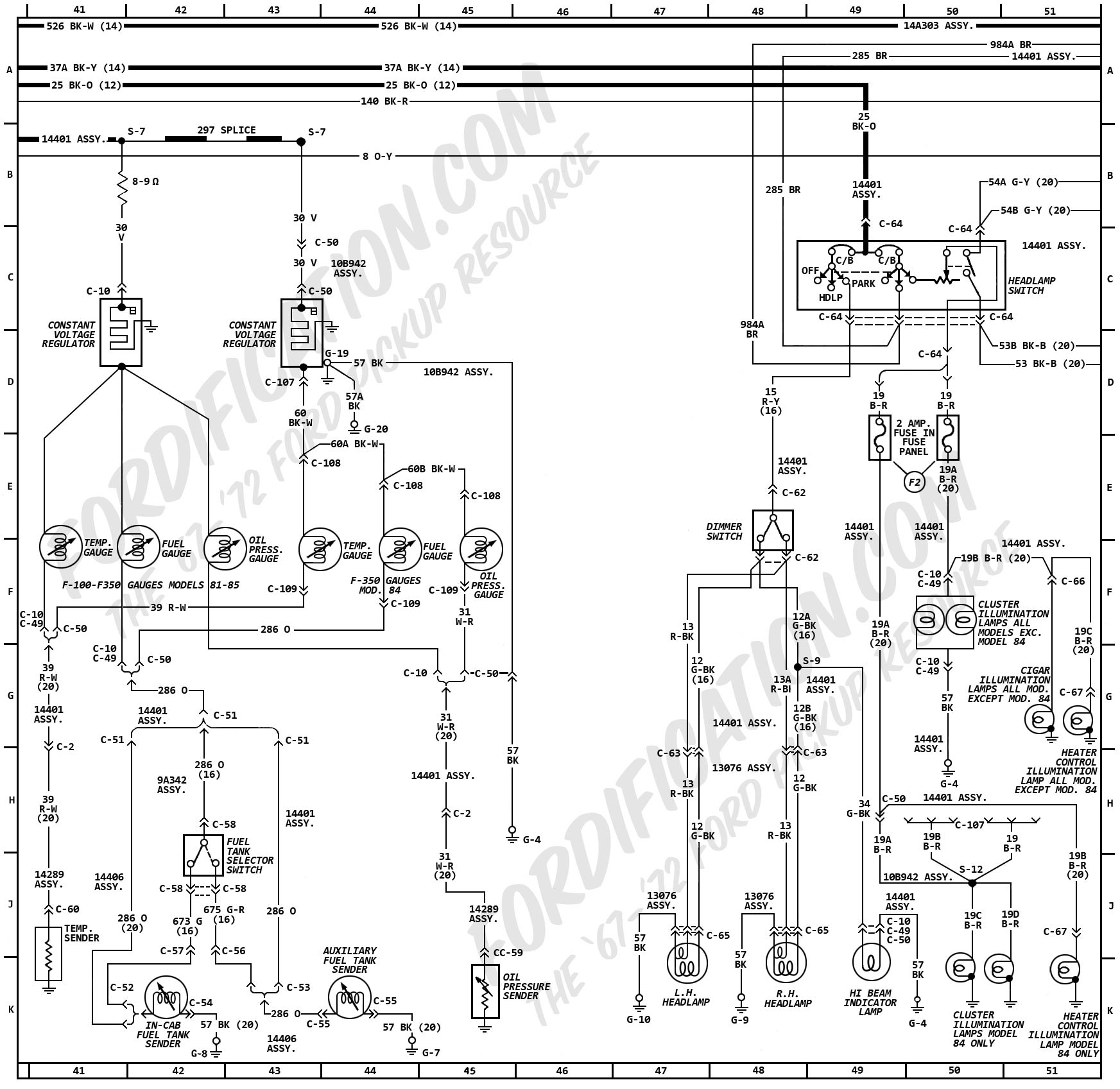 Ford F 250 Dome Light Wiring Diagram
