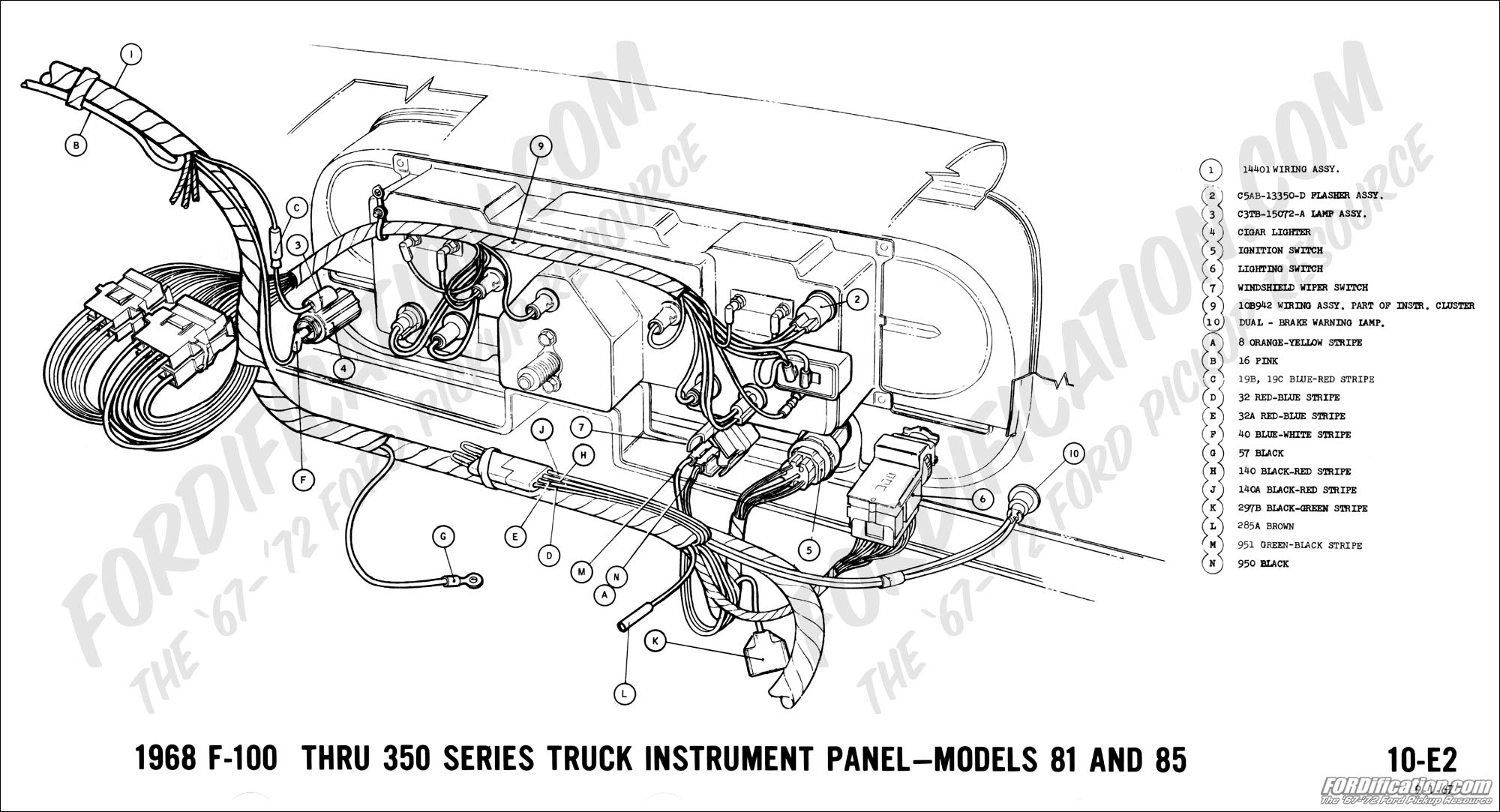 El Camino Wiper Wiring Diagram