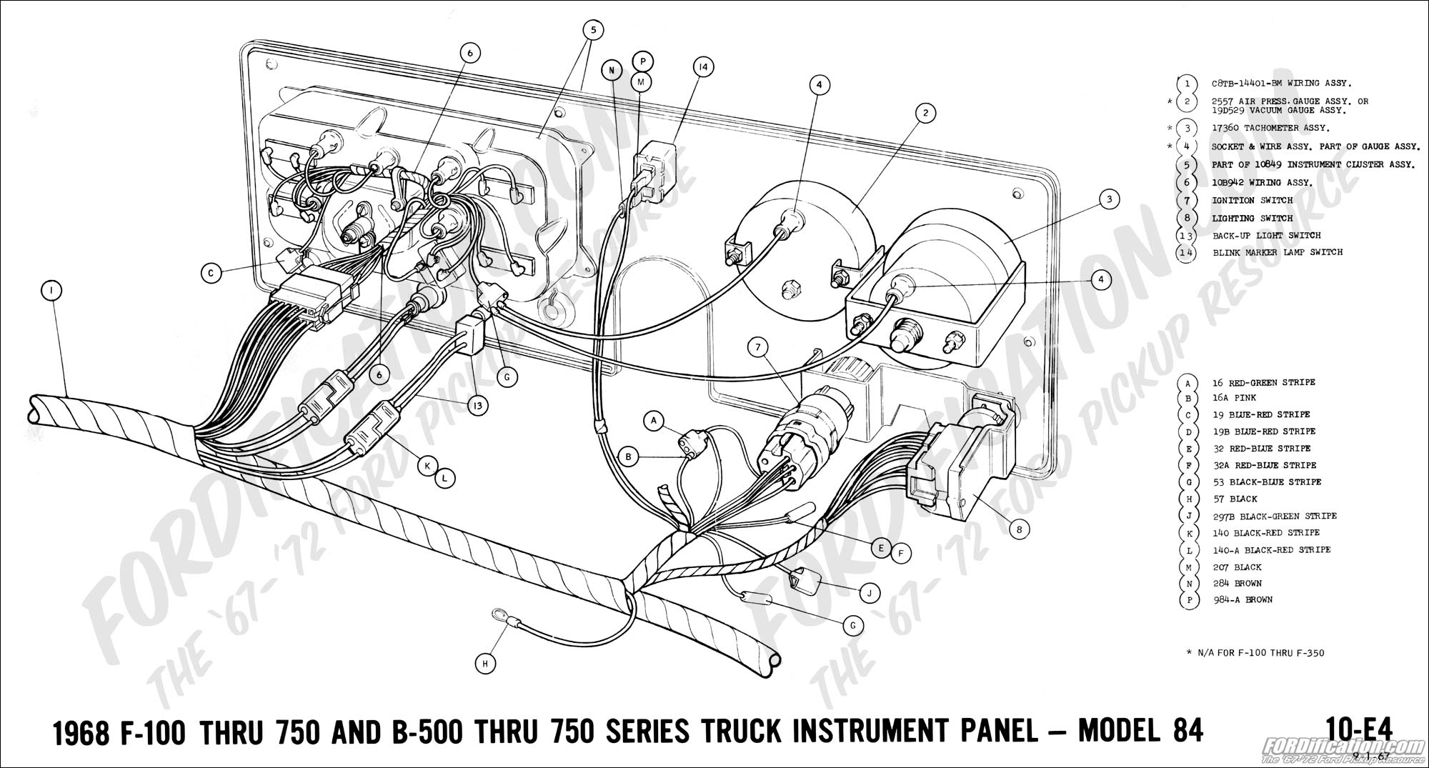 How To Remove Instrument Panel Dash Ford Pickup
