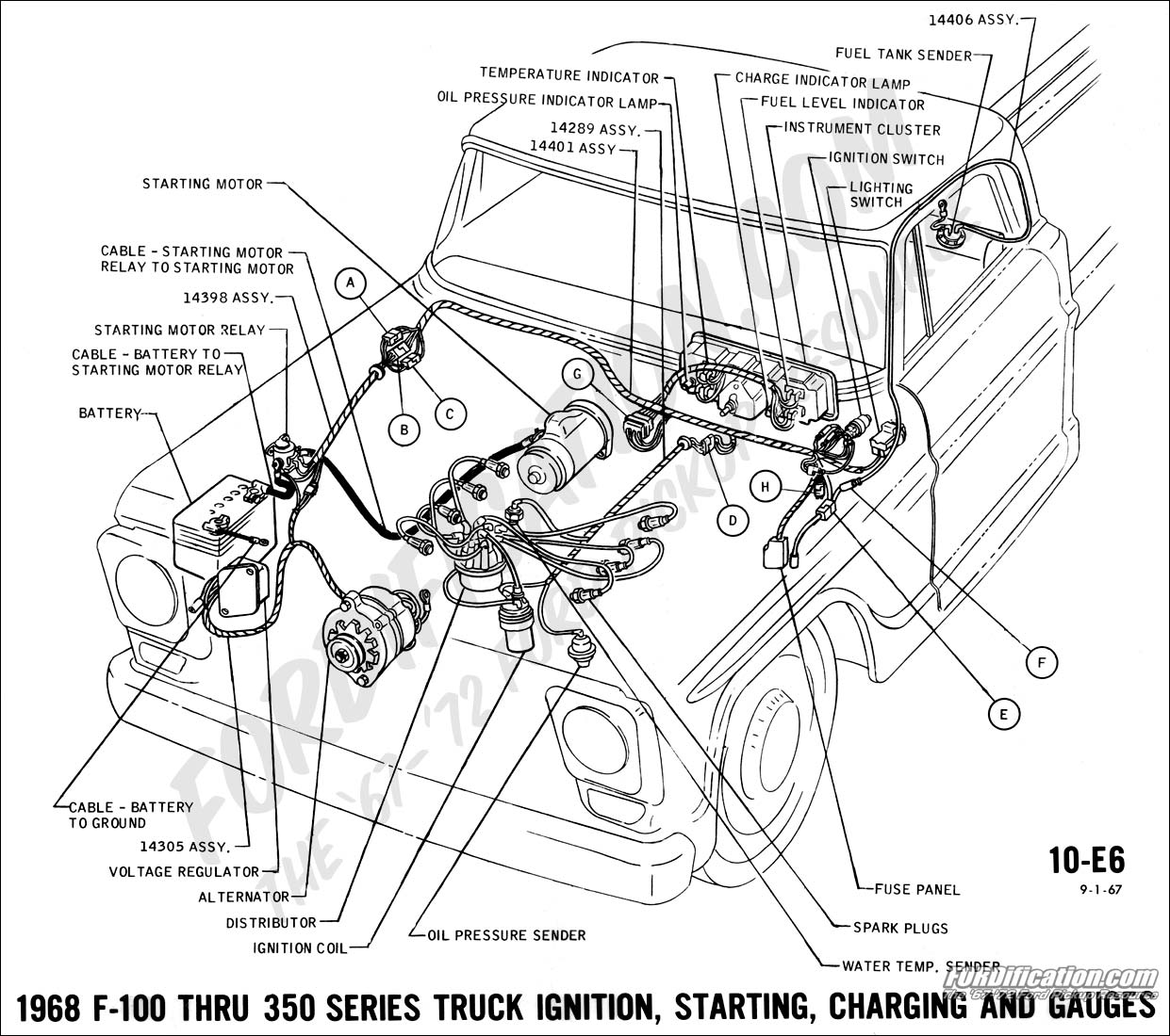 1969 ford power steering pump diagram