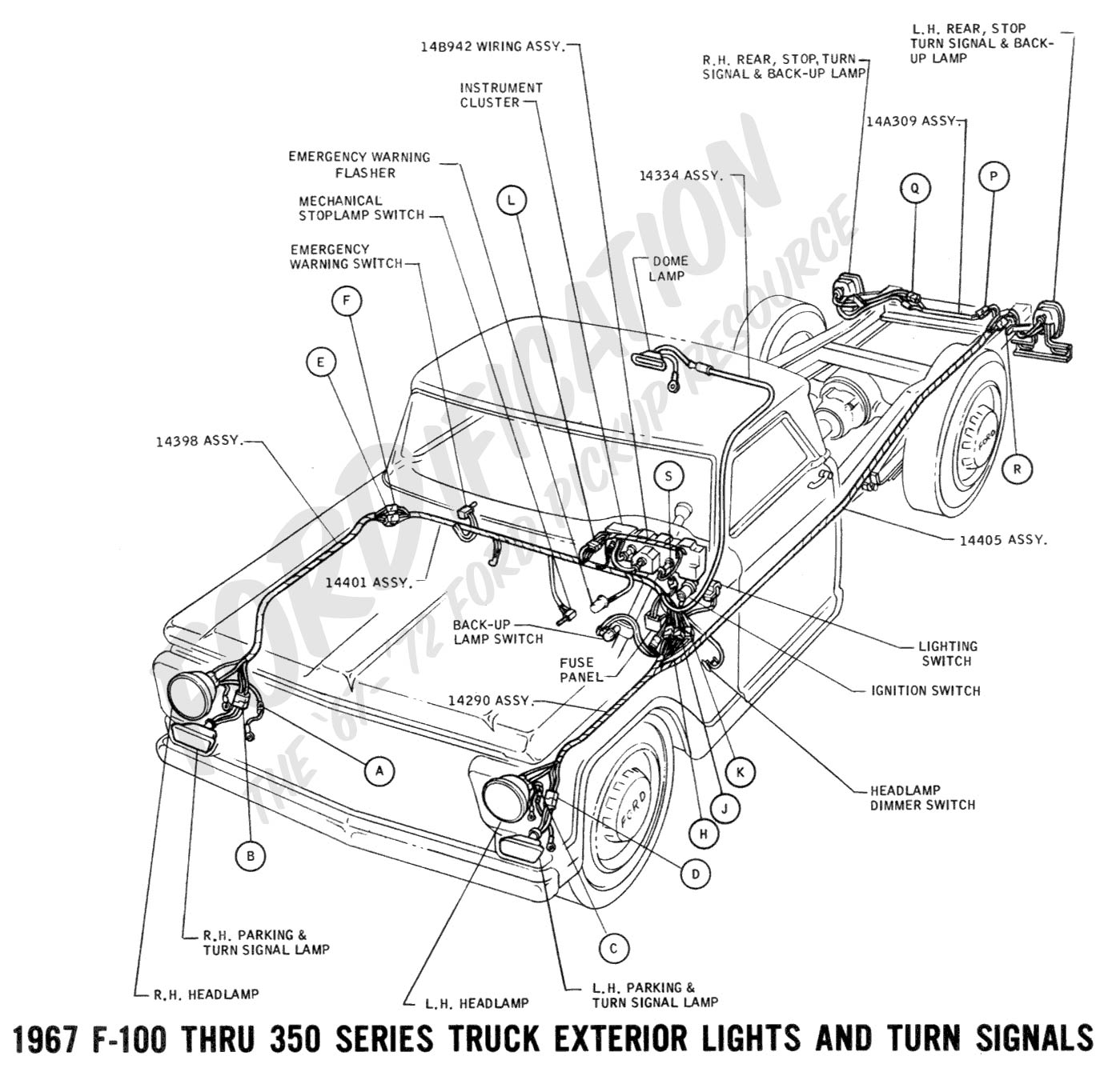Ford F 250 Clutch Master Cylinder Diagram