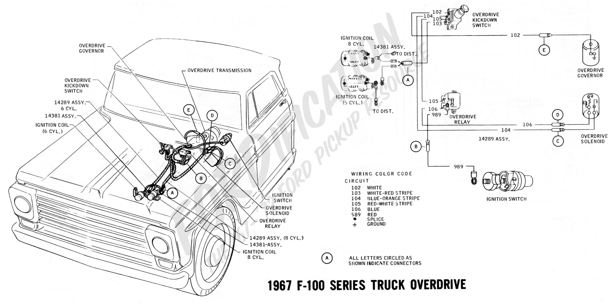 Wrg 68 Ford F100 Wiring Diagram