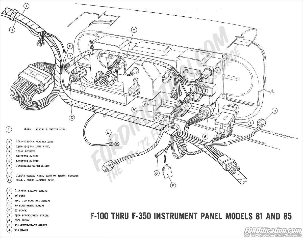 1969 Mustang Instrument Cluster Wiring Diagram on 1978 Ford Pickup Wiring Diagram