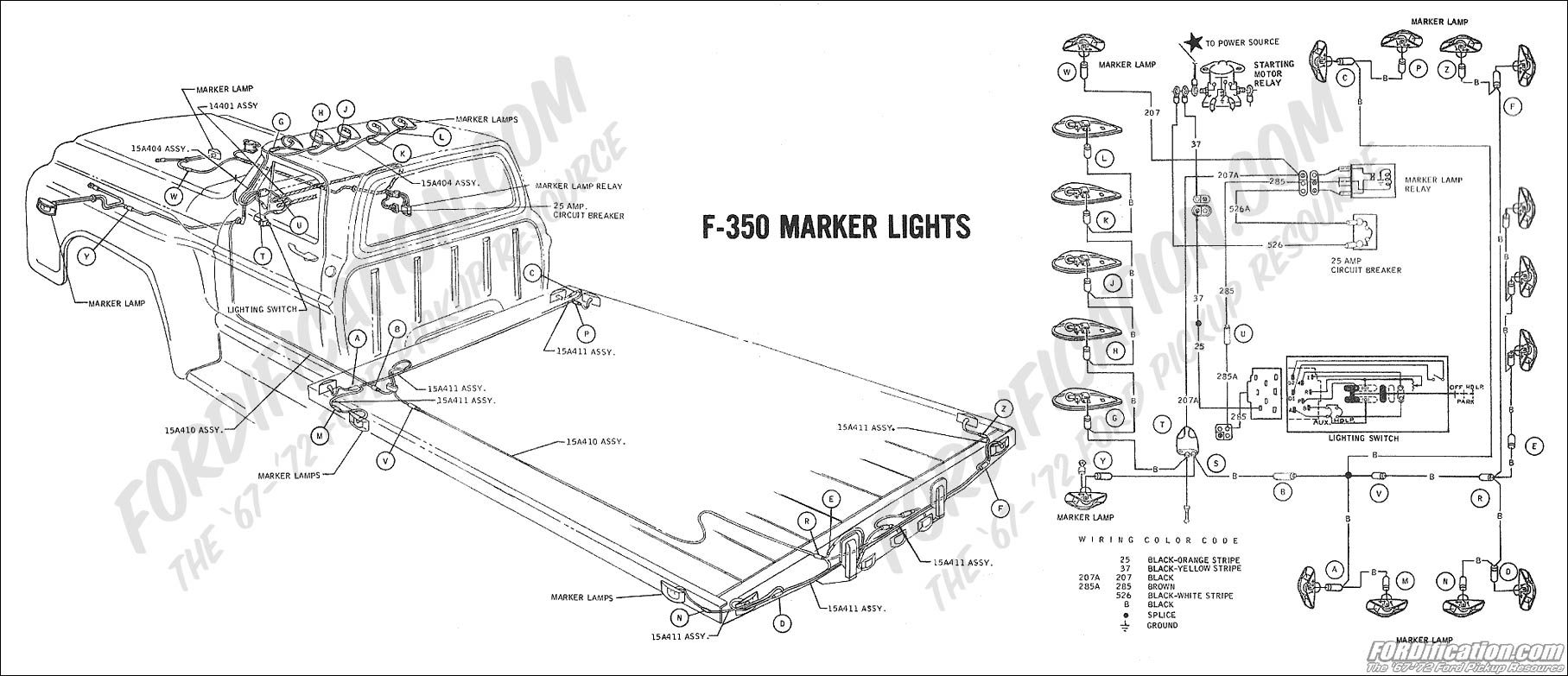 wrg chevy headlight wiring · ford truck technical drawings and schematics