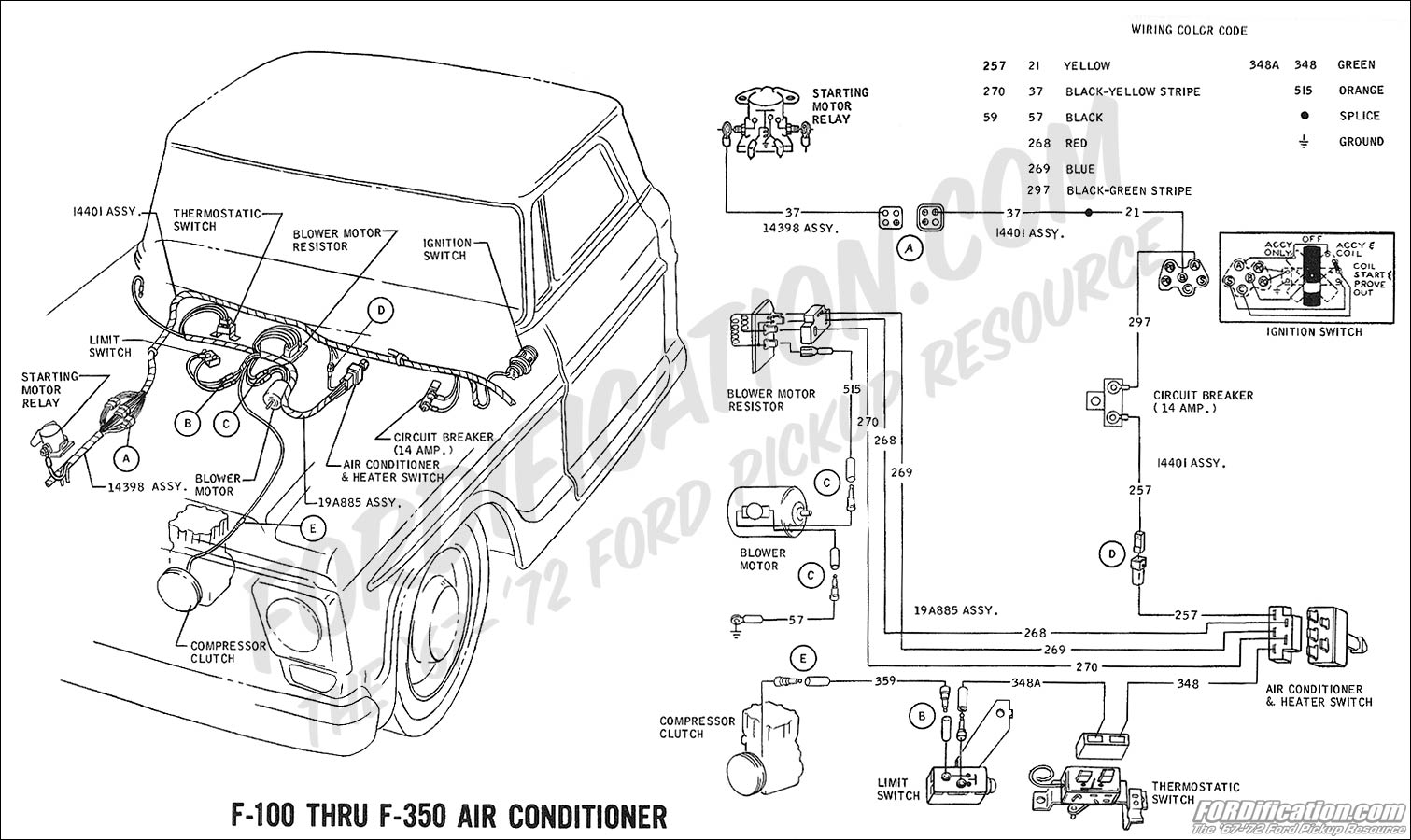 Peterbilt Ac Orifice Tube Diagram