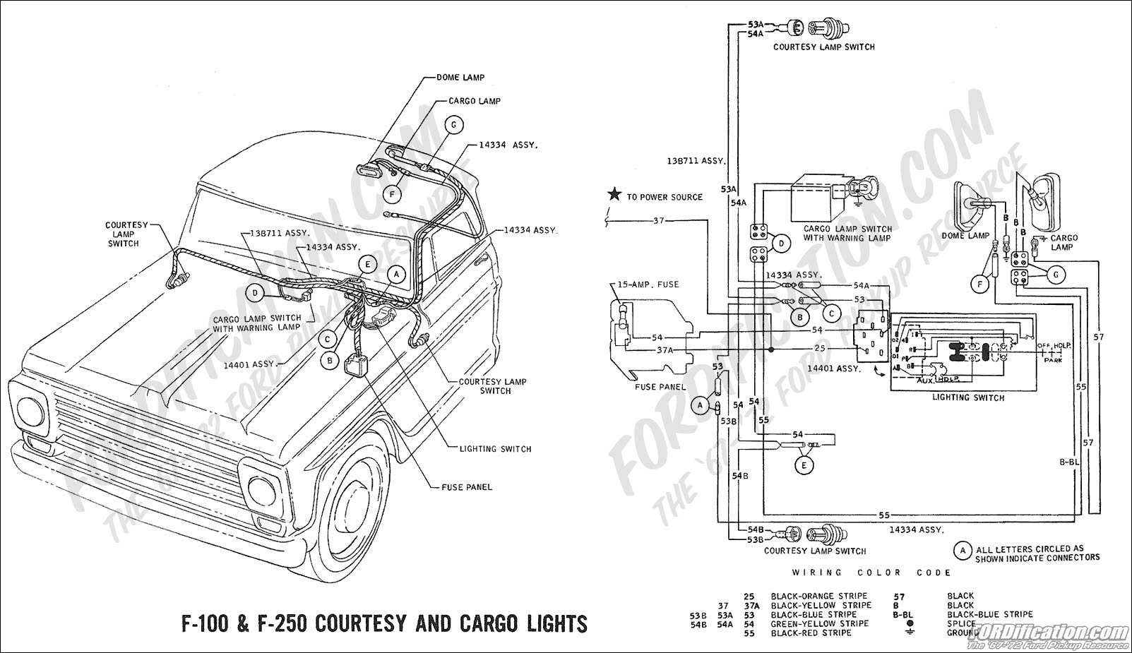 Ford F 150 Dome Light Wiring Diagram