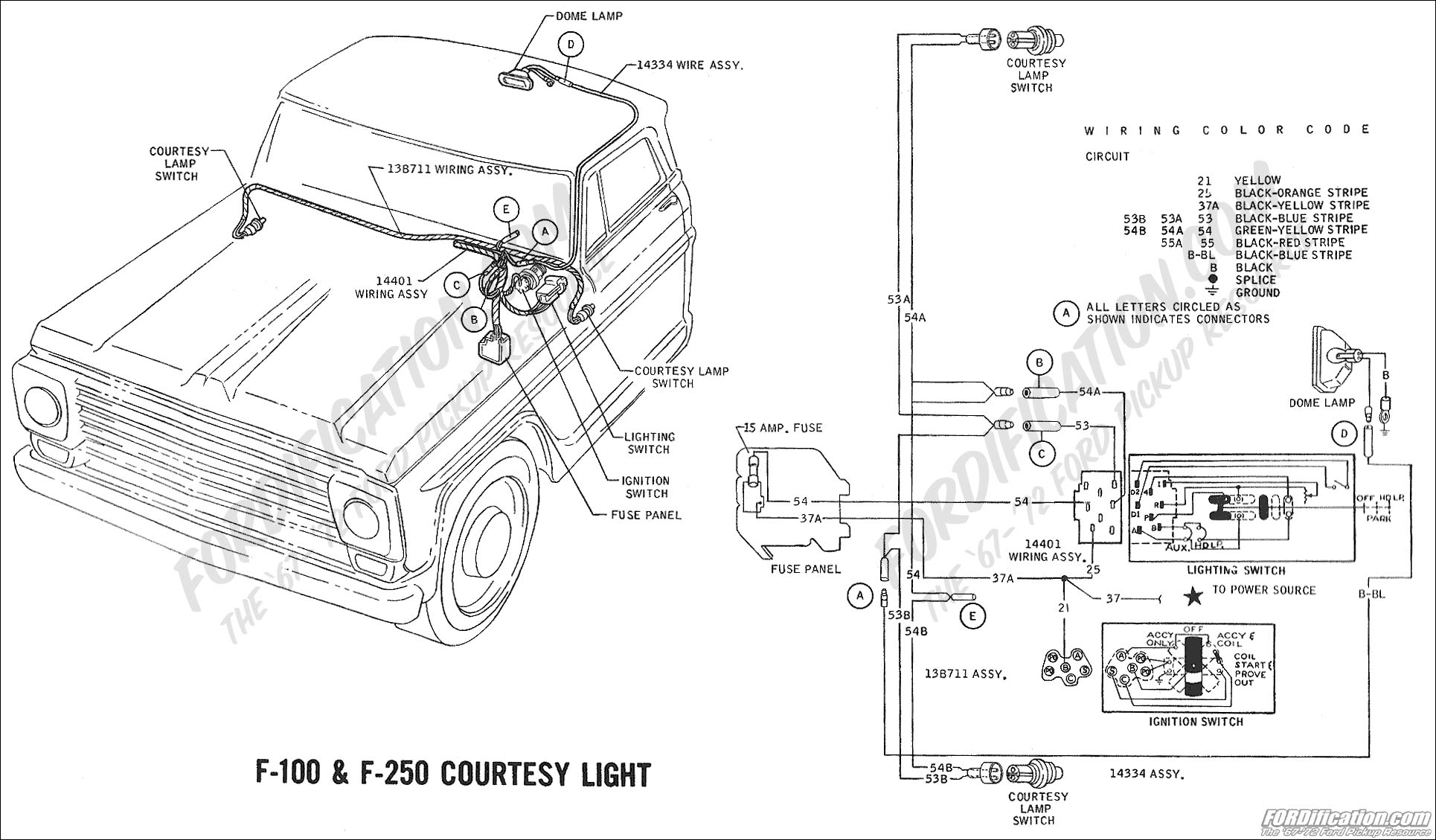 Ford F 250 Wiring Diagram Light