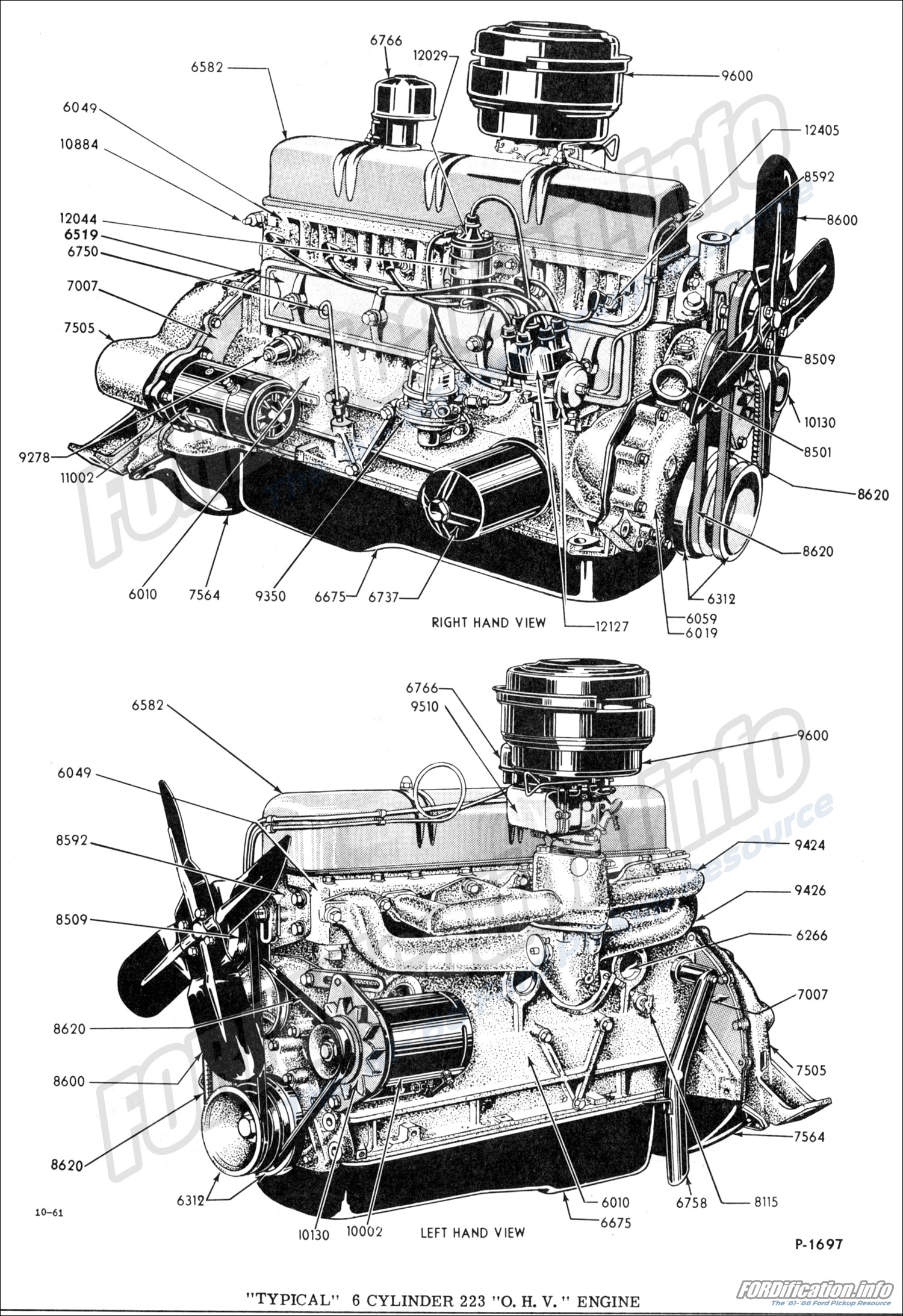 Engine Related Schematics