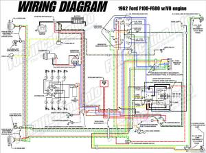 1962 Ford Truck Wiring Diagrams  FORDificationinfo  The