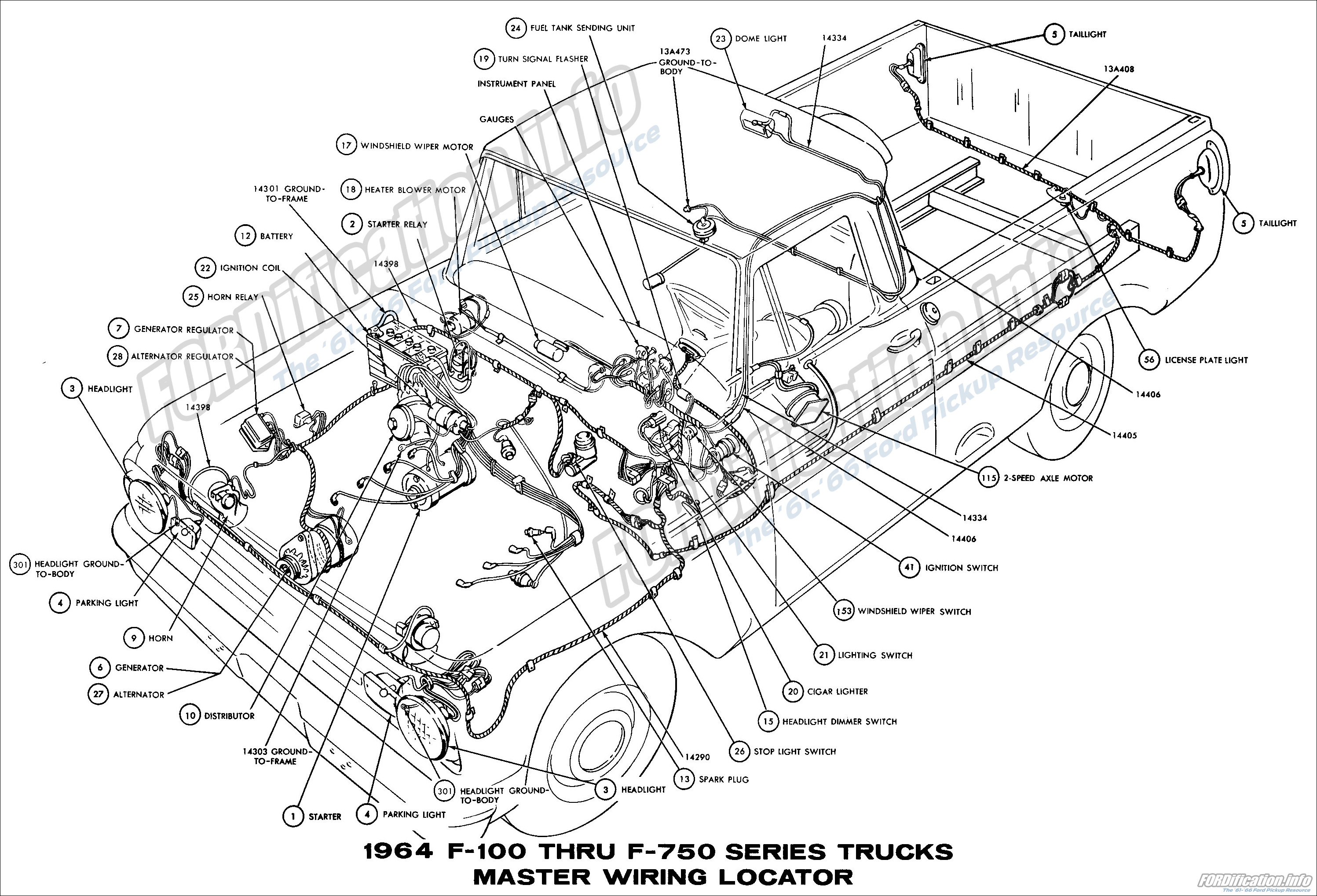 Ford Truck Proportioning Valve Diagram