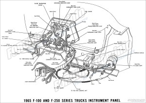 1965 Ford Truck Wiring Diagrams  FORDificationinfo  The