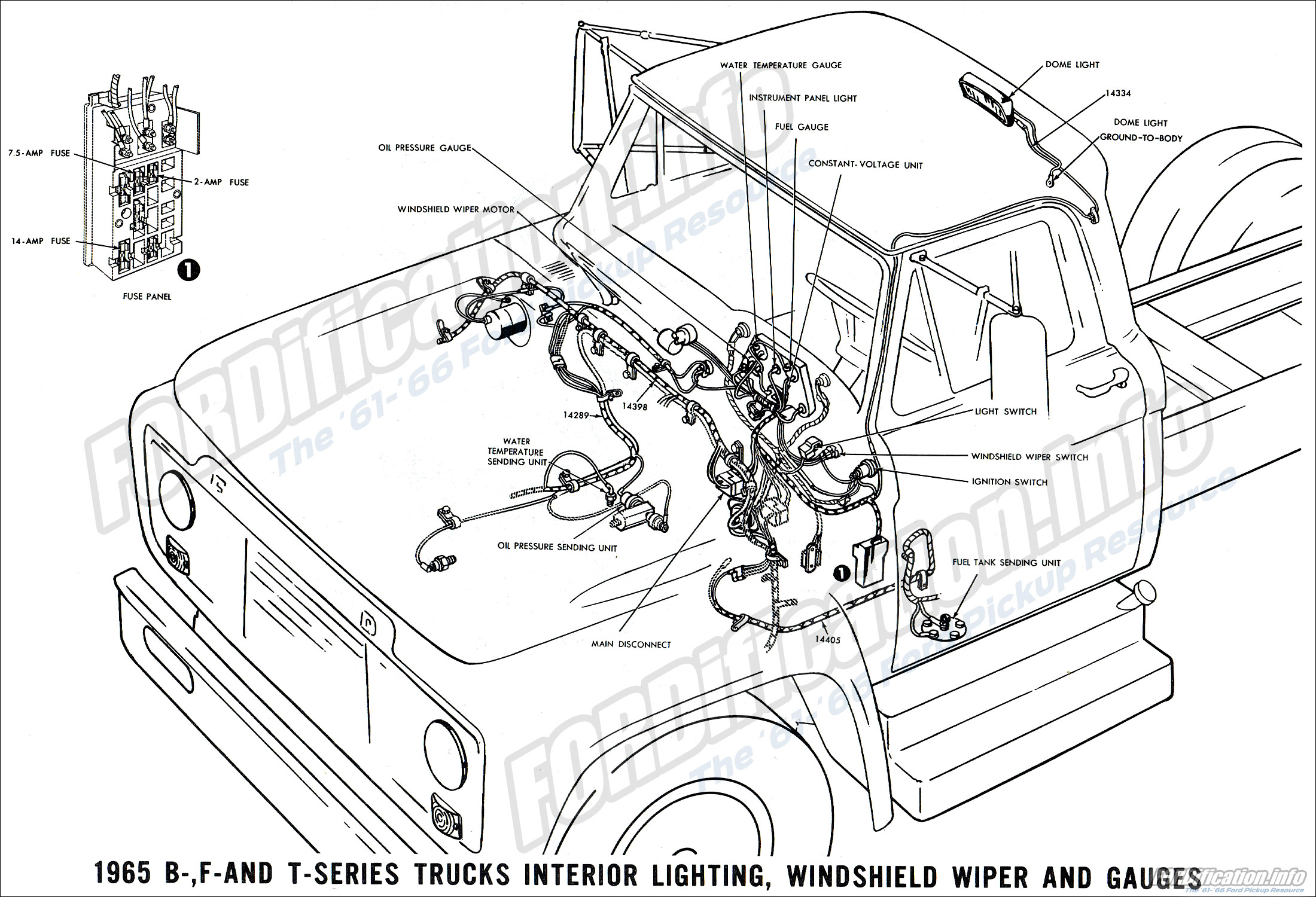 Wrg 65 Ford F100 Wiper Switch Wiring Diagram