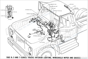 1965 Ford Truck Wiring Diagrams  FORDificationinfo  The