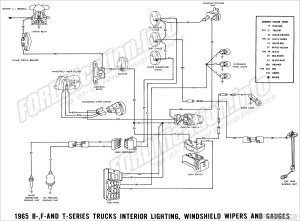 1965 Ford Truck Wiring Diagrams  FORDificationinfo  The