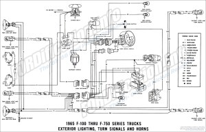 1965 Ford F100 Instrument Cluster Wiring Diagram | Online
