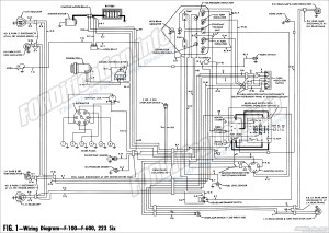 1961 Ford Truck Wiring Diagrams  FORDificationinfo  The