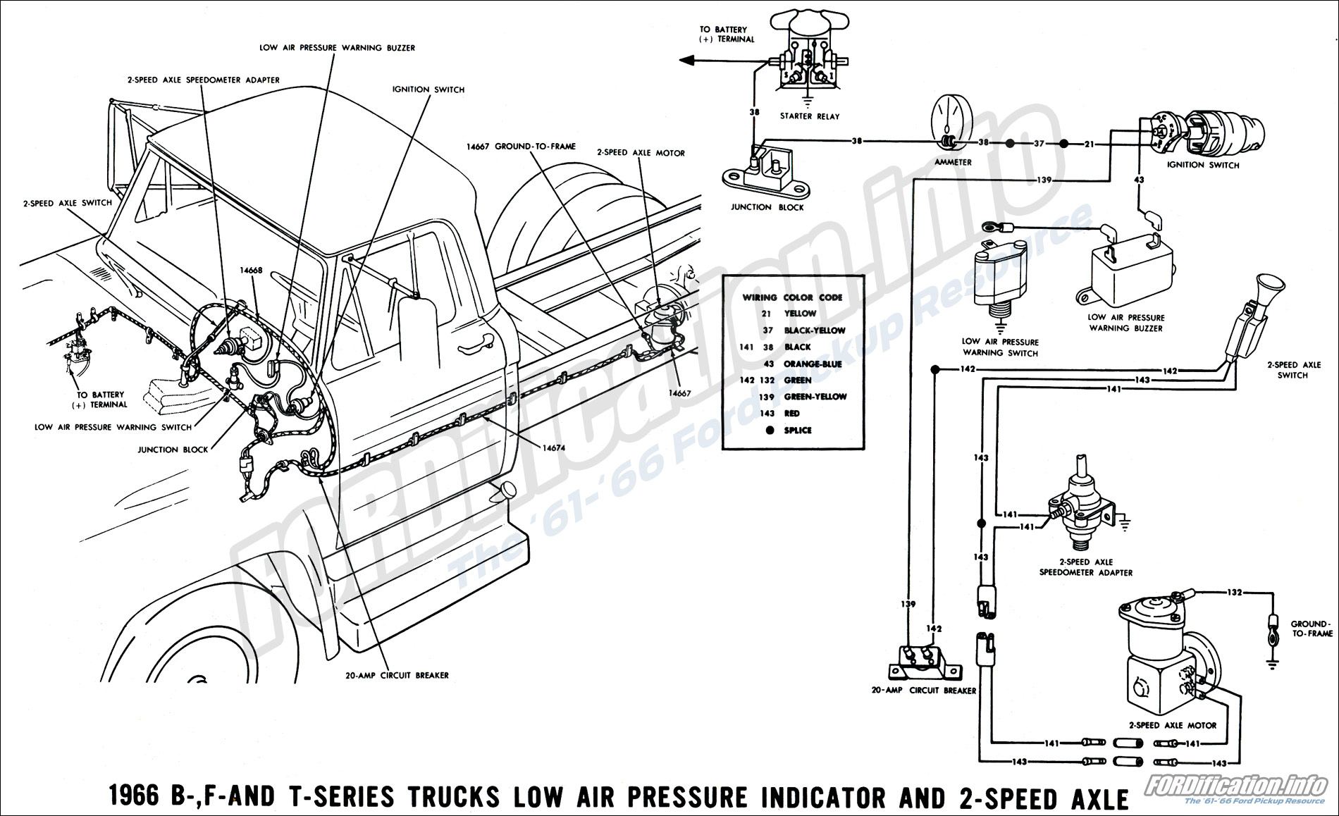 Wiring Diagram For Ford F600 Truck