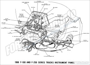 1966 Ford Truck Wiring Diagrams  FORDificationinfo  The '61'66 Ford Pickup Resource