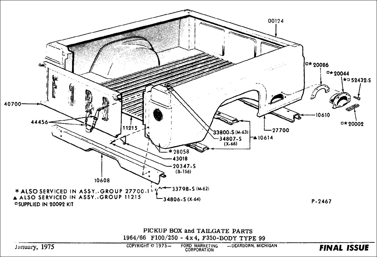 Ford S 61 66 Wrongbed History