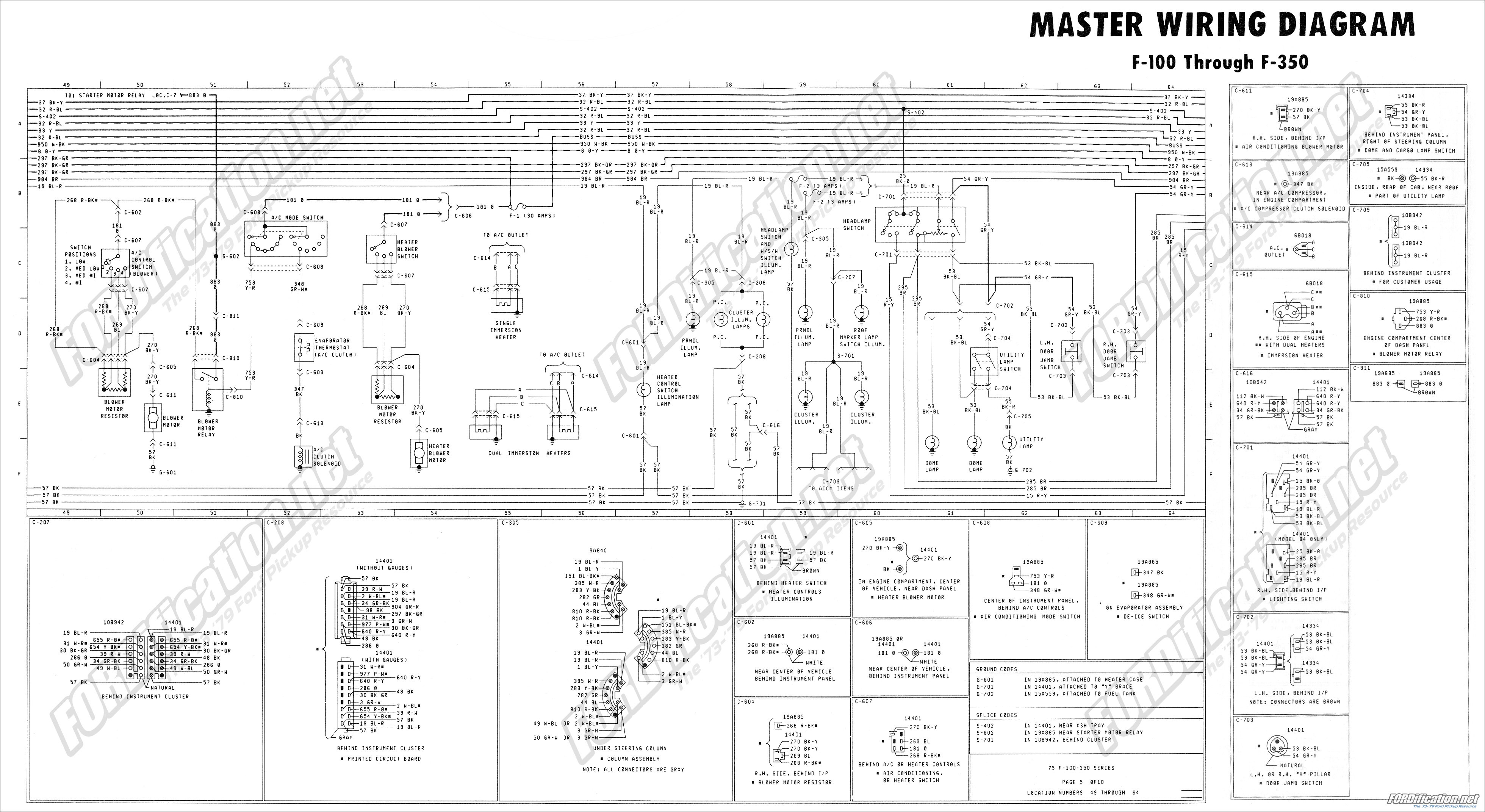 76 Ford Truck Wiring Diagram