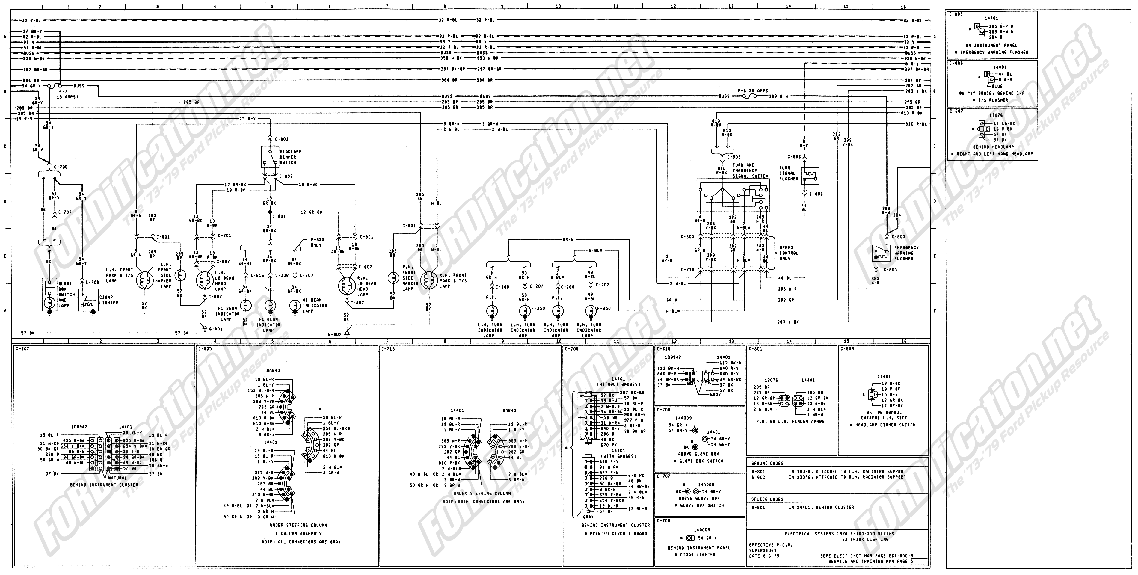 Ford Wiring Diagrams Light Medium And Heavy Duty