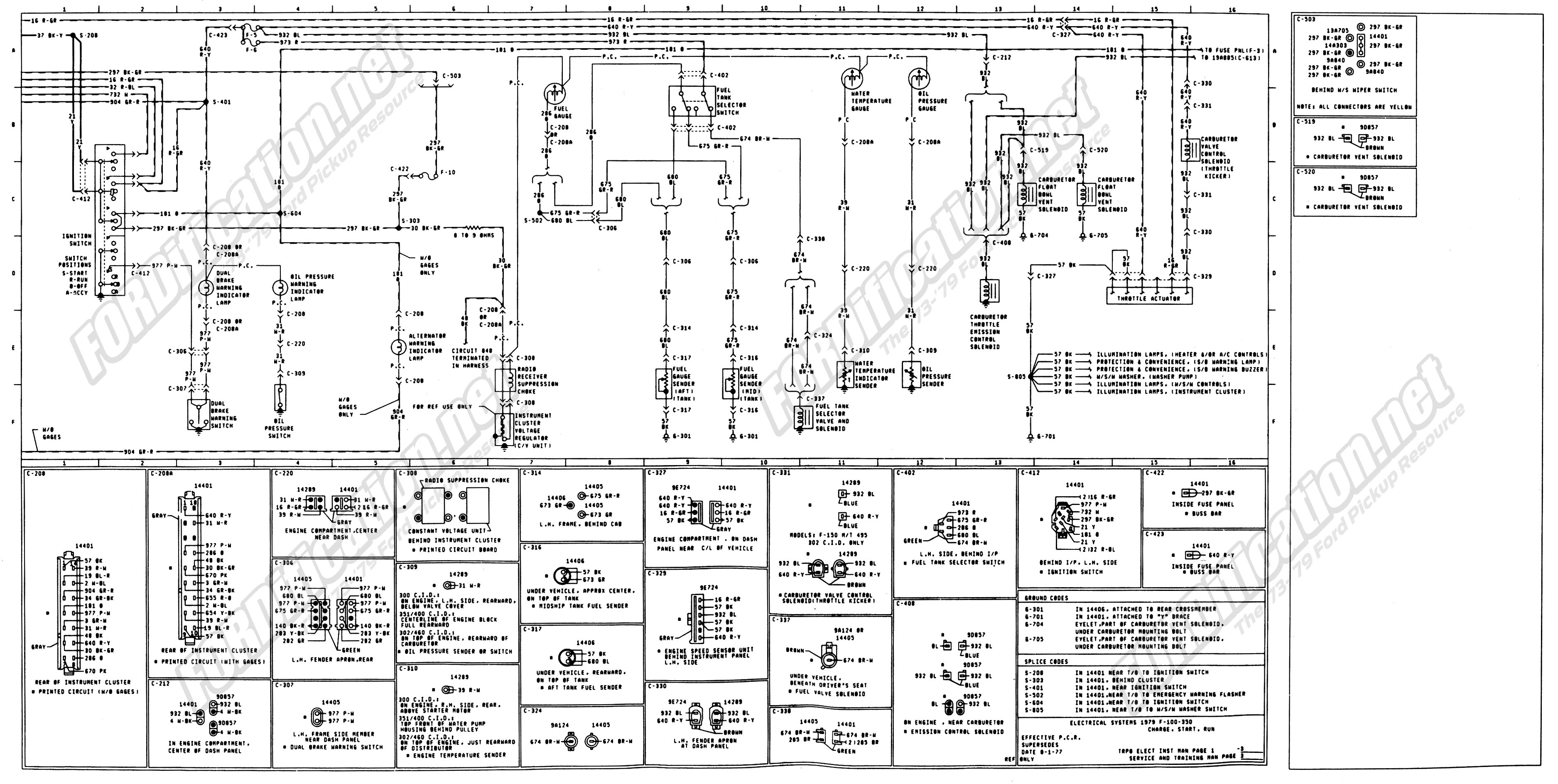 Details About Ford F100 F350 Truck Wiring Diagram