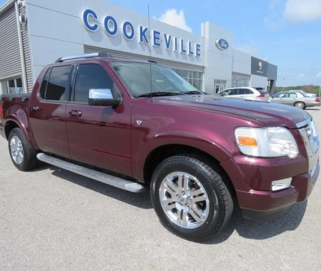 2007 Ford Explorer Sport Trac Limited In Nashville Tn Ford Lincoln Of Cookeville