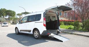Ford Tourneo Connect per Disabili