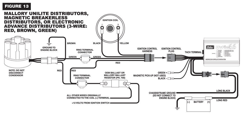 6.6_Wire mallory distributor wiring diagram efcaviation com mallory 6al wiring diagram at mifinder.co