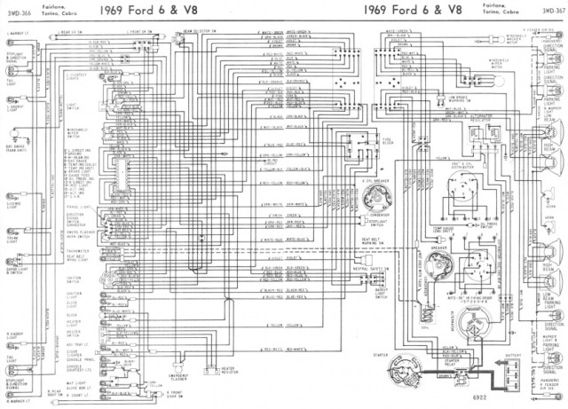 wiring diagram for ignition system 1969 ford ltd | hobbiesxstyle  hobbiesxstyle