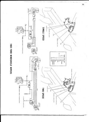 66 Galaxie single speed to 2 speed wiper motor swap