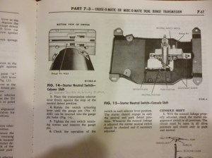 1964 Galaxie 500 Automatic  Back up light switch  Ford Muscle Forums : Ford Muscle Cars Tech Forum