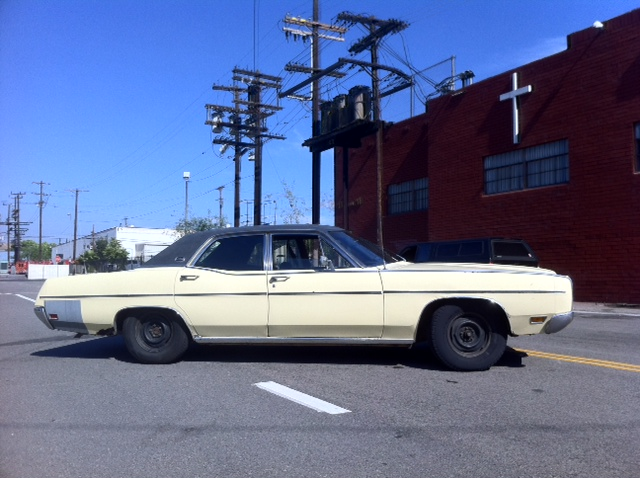 Parting Out 1970 Ford Ltd 4 Door Ford Muscle Forums