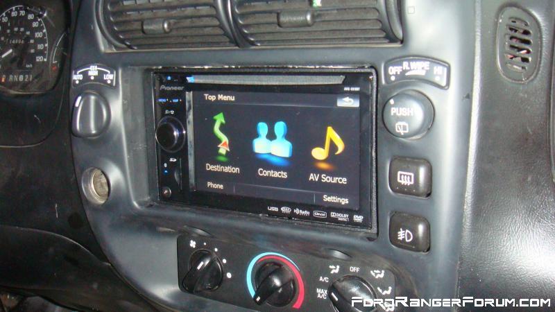 Finally Got My Pioneer Headunit Ford Ranger Forum