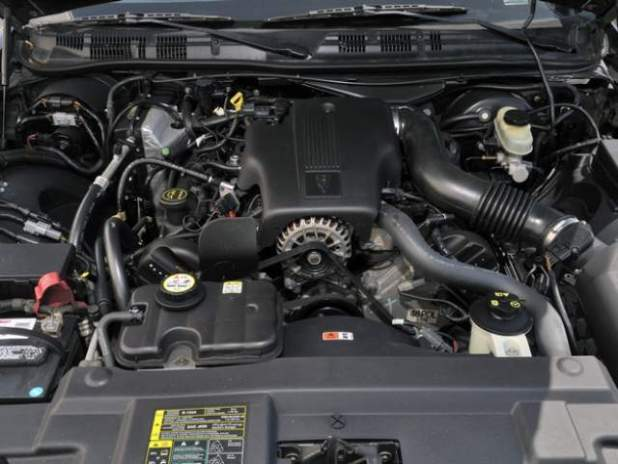 2018 Ford Crown Victoria engine