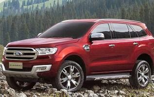 2018 Ford Everest side front