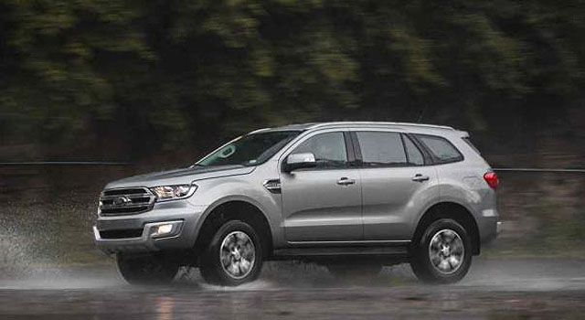 2018 Ford Everest Crossover Version Of Ford Ranger Truck Ford Tips