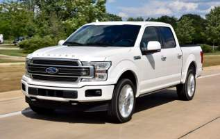 2019 Ford F 150 front