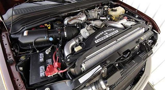 2019 Ford F-250 engine