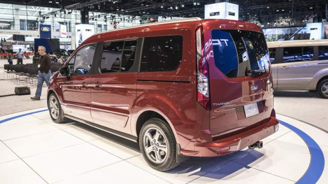 2019 Ford Transit Connect rear