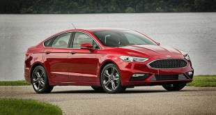 2019 Ford Fusion side front