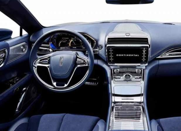 2019 Lincoln Continental interior