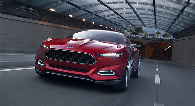 2018 Ford Thunderbird front