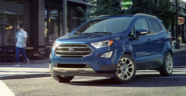 2019 Ford EcoSport front