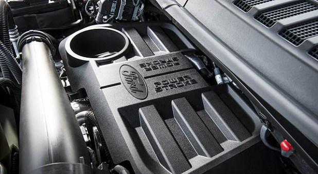 2019 Ford F-150 Diesel engine