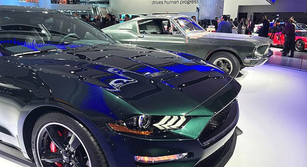 2019 Ford Mustang Bullit front