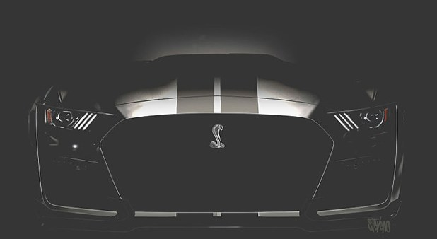 2019 Mustang Shelby GT500 front