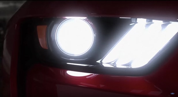 2019 Mustang Shelby GT500 lights