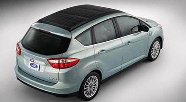 Ford C-Max Solar Energi exterior